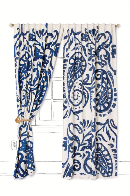 U201cLakarriu201d Crewelwork Curtain, $208 $268. Available At Anthropologie, Lenox  Square. U201c