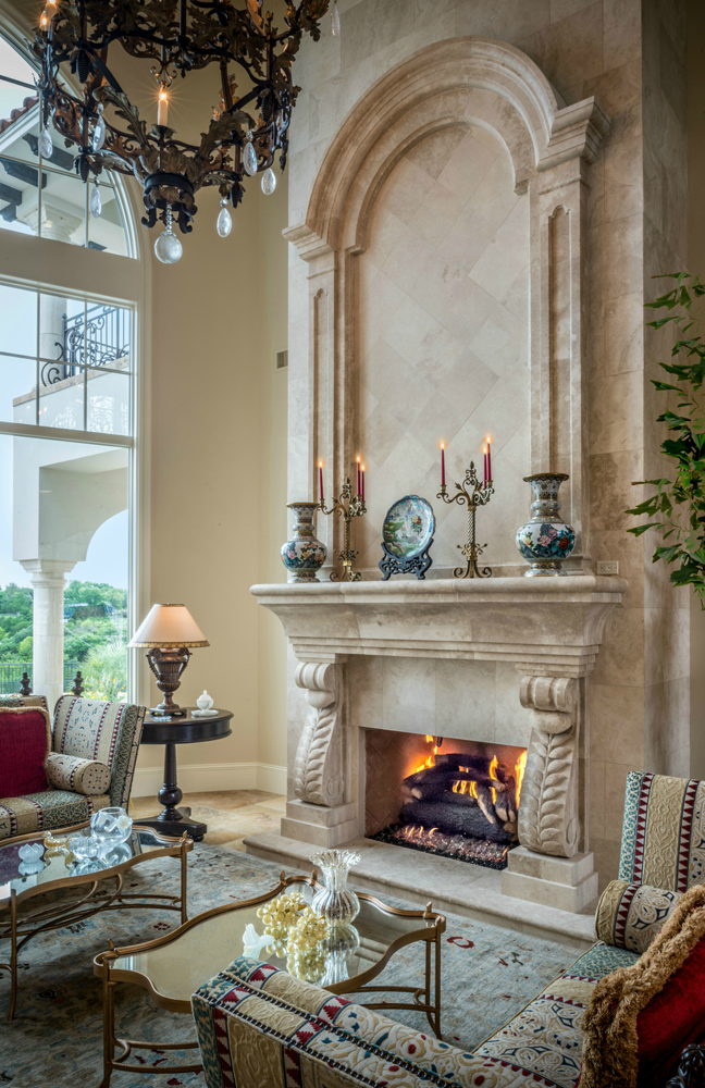 Natural Stone Fireplaces And Surrounds By Materials Marketing Are Each A Unique Work Of Art